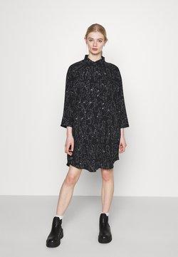 Monki - MOA RAGLAN - Vestido camisero - black