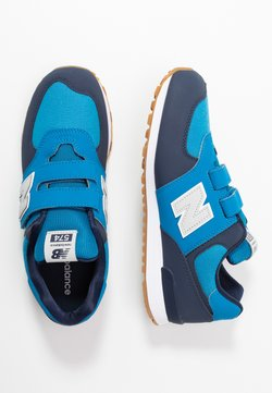 New Balance - YV574DMB - Matalavartiset tennarit - blue