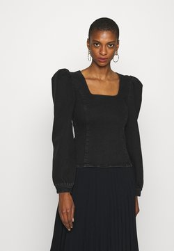 Gestuz - ASTRIDGZ BLOUSE - Blouse - washed black