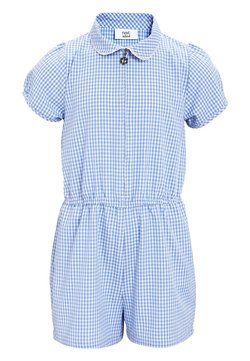 Next - GINGHAM - Combinaison - light blue