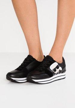 KARL LAGERFELD - VELOCITA IKONIC METEOR LACE - Sneakersy niskie - black