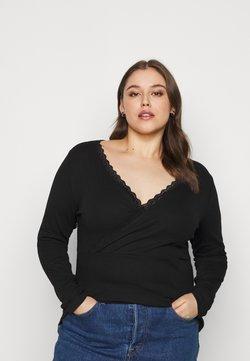 Anna Field Curvy - Pitkähihainen paita - black