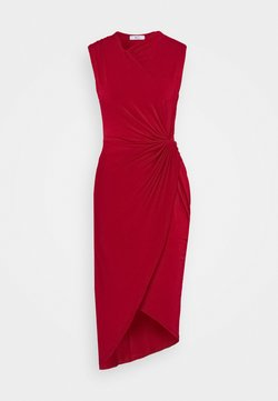 WAL G. - SIDE KNOT DRESS - Robe de soirée - cherry