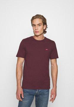 Levi's® - ORIGINAL TEE - T-shirt basique - bordeaux