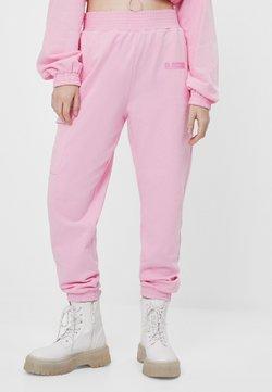 Bershka - Jogginghose - pink