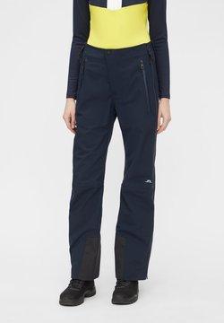 J.LINDEBERG - DEBBY SHELL - Spodnie materiałowe - jl navy