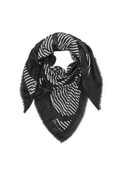 s.Oliver - MIT STATEMENT-PRINT - Écharpe - black stripes
