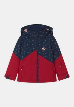 Ziener - ALANI JUN UNISEX - Kurtka snowboardowa - red pepper