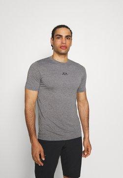 Oakley - BARK NEW - T-Shirt basic - athletic heather grey