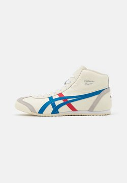 Onitsuka Tiger - MEXICO MID RUNNER UNISEX - Sneaker high - white/blue
