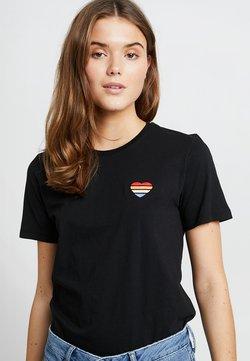 Even&Odd - Basic T-shirt - black