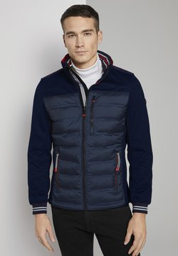 TOM TAILOR - MIT STEHKRAGEN - Winterjacke - sky captain blue