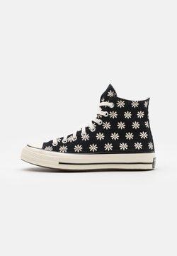 Converse - CHUCK TAYLOR ALL STAR 70 UNISEX - Sneakersy wysokie - black/egret