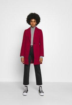 Even&Odd - Classic coat - dark red