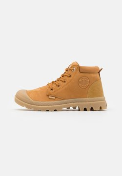Palladium - LOW CUF LEA  - Ankle Boot - amber gold