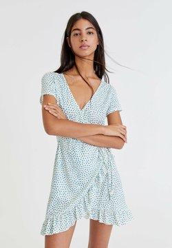 PULL&BEAR - MIT PRINT - Sukienka letnia - white