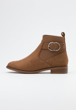 ONLY SHOES - ONLBOBBY LIFE BUCKLE BOOT  - Stiefelette - sand