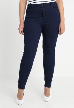 Zizzi - LONG AMY - Slim fit -farkut - dark blue
