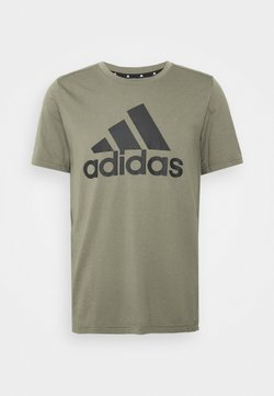 adidas Performance - Camiseta estampada - legacy green/black