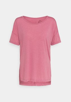 Nike Performance - YOGA LAYER - T-paita - desert berry/arctic pink