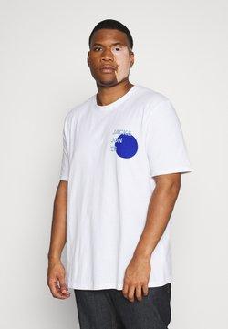 Jack & Jones - JJAARHUS TEE CREW NECK   - T-shirt imprimé - white
