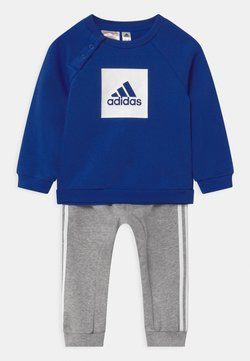 adidas Performance - LOGO SET UNISEX - Dres - white/team royal blue/medium grey heather