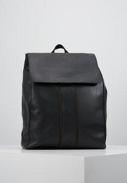 Pier One - UNISEX LEATHER - Sac à dos - black