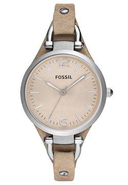 Fossil - GEORGIA - Uhr - hellbraun