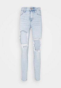 American Eagle - HI RISE - Jegging - blooming bright blue