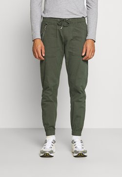 Redefined Rebel - TOBY PANTS - Spodnie materiałowe - thyme