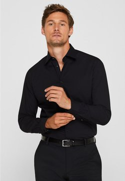 Esprit Collection - SLIM FIT - Businesshemd - black