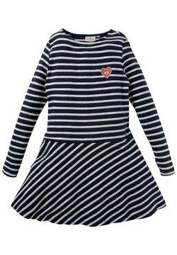 TOM TAILOR - DRESSES - Strickkleid - dress blue|blue