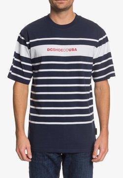 DC Shoes - LAYTONVILLE - T-Shirt print - black iris