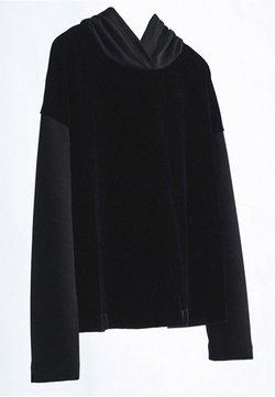 Massimo Dutti - Sweat à capuche - Black