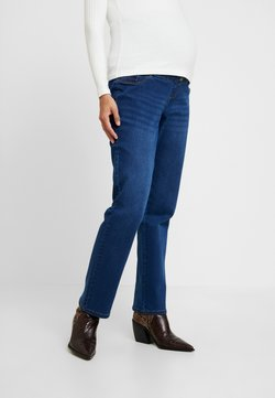 Dorothy Perkins Maternity - OVERBUMP ELLIS STRAIGHT - Straight leg jeans - mid wash
