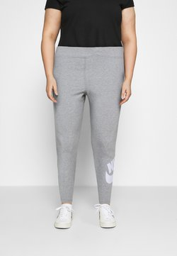 Nike Sportswear - FUTURA  - Leggings - Trousers - dark grey heather/white