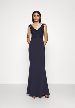 Nly by Nelly - WRAP LACE MERMAID GOWN - Ballkjole - navy