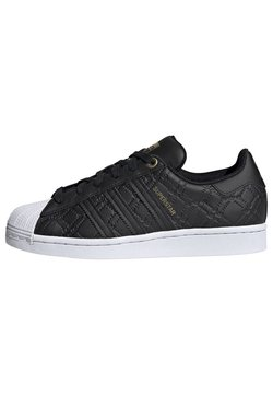 adidas Originals - SUPERSTAR SHOES - Sneakers - black