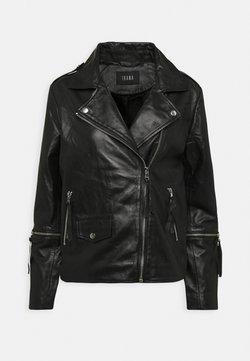 Ibana - BECCA - Leather jacket - black