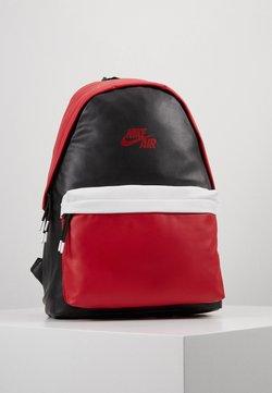 Jordan - AJ PACK - Reppu - black/gym red