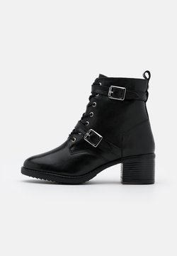 Dune London WIDE FIT - WIDE FIT PAXTONE - Veterboots - black