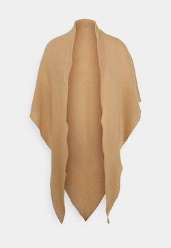 Repeat - TRIANGLE SCARF - Chusta - camel
