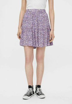 Pieces - Jupe trapèze - dahlia purple