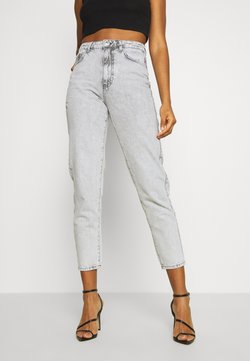 Gina Tricot - DAGNY HIGHWAIST - Jeans Relaxed Fit - bleached grey