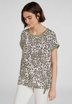 Oui - IM ANGESAGTEM  - T-Shirt print - light grey green