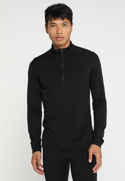 Icebreaker - HALF ZIP - Camiseta interior - black
