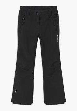 Icepeak - LENEXA UNISEX - Snow pants - black