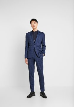 Lindbergh - CHECKED SUIT - Costume - blue