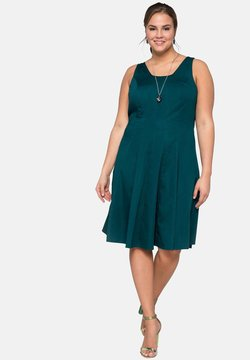 Sheego - Cocktailkleid/festliches Kleid - deep green