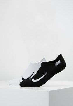 Nike Performance - UNISEX 2 PACK - Calcetines tobilleros - weiss